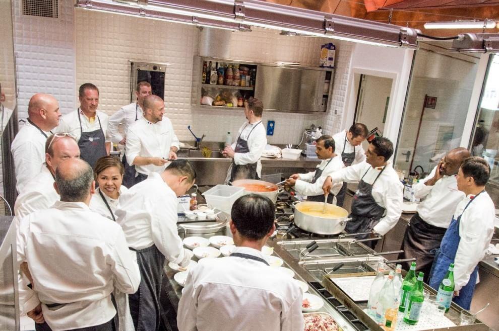 Refettorio ambrosiano for Bassetti milano